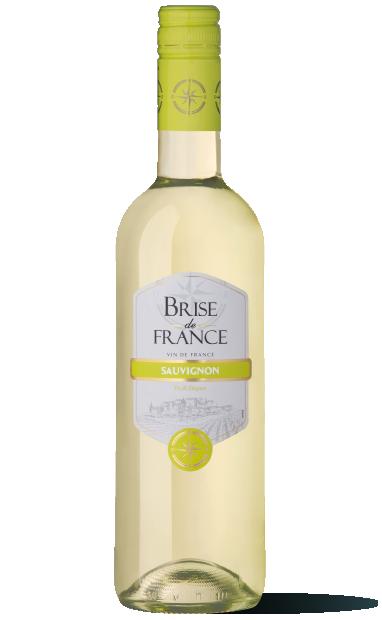 bouteille de vin sauvignon brise de france